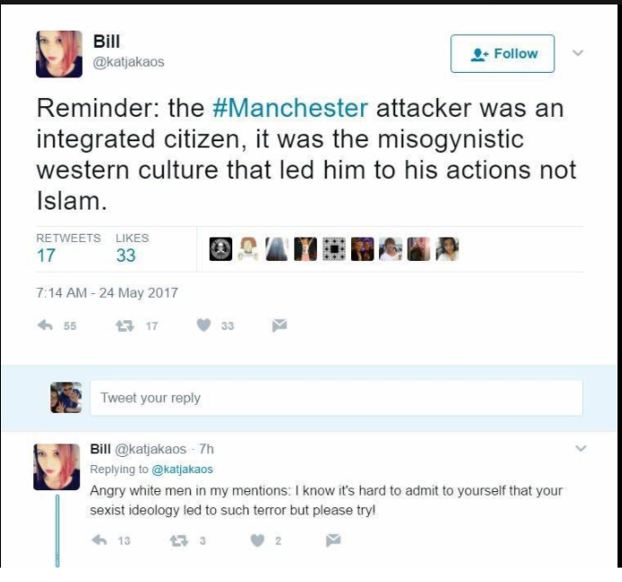 No, Masculinity Isn't To Blame For Manchester